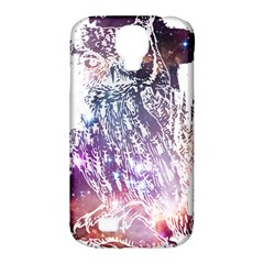 Cosmic Owl Samsung Galaxy S4 Classic Hardshell Case (pc+silicone) by Contest1775858
