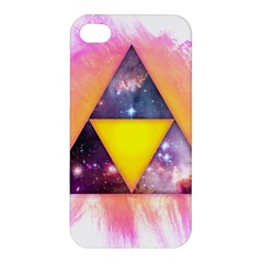 Cosmic Triple Triangles Apple Iphone 4/4s Hardshell Case by Contest1775858