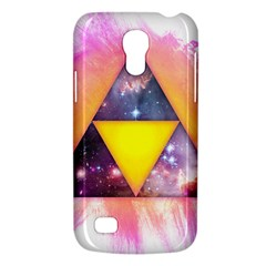 Cosmic Triple Triangles Samsung Galaxy S4 Mini Hardshell Case  by Contest1775858