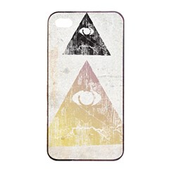 All seeing eye Apple iPhone 4/4s Seamless Case (Black) by Contest1775858
