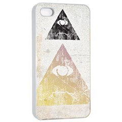 All Seeing Eye Apple Iphone 4/4s Seamless Case (white) by Contest1775858