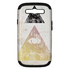 All Seeing Eye Samsung Galaxy S Iii Hardshell Case (pc+silicone) by Contest1775858