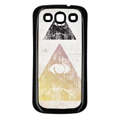 All seeing eye Samsung Galaxy S3 Back Case (Black) by Contest1775858