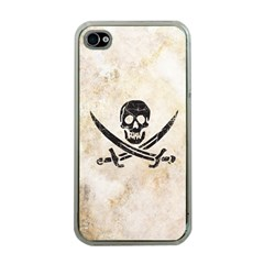 Pirate Apple Iphone 4 Case (clear) by Contest1775858