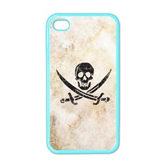 Pirate Apple Iphone 4 Case (color) by Contest1775858