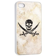 Pirate Apple iPhone 4/4s Seamless Case (White) by Contest1775858