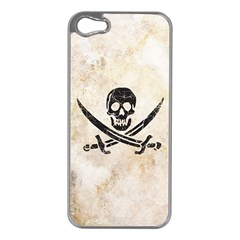 Pirate Apple Iphone 5 Case (silver) by Contest1775858