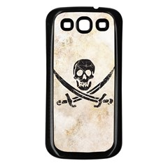 Pirate Samsung Galaxy S3 Back Case (Black) by Contest1775858