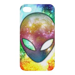 Space Alien Apple Iphone 4/4s Hardshell Case by Contest1775858