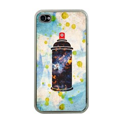 Spray Paint Apple Iphone 4 Case (clear) by Contest1775858