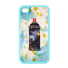 Spray Paint Apple Iphone 4 Case (color) by Contest1775858