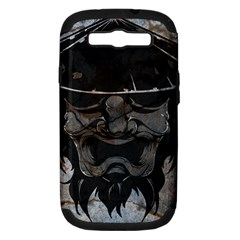 Stone Samurai Samsung Galaxy S Iii Hardshell Case (pc+silicone) by Contest1775858