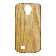 Light Wood Samsung Galaxy S4 Classic Hardshell Case (PC+Silicone) by Contest1775858