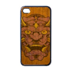 Demon Apple Iphone 4 Case (black) by Contest1775858