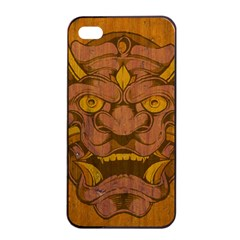 Demon Apple Iphone 4/4s Seamless Case (black) by Contest1775858