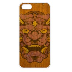 Demon Apple Iphone 5 Seamless Case (white) by Contest1775858