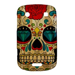 Sugar Skull BlackBerry Bold Touch 9900 9930 Hardshell Case  by Contest1775858