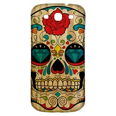 Sugar Skull Samsung Galaxy S3 S Iii Classic Hardshell Back Case by Contest1775858