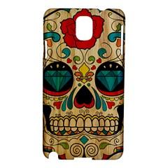 Sugar Skull Samsung Galaxy Note 3 N9005 Hardshell Case by Contest1775858
