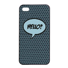 Hello Apple iPhone 4/4s Seamless Case (Black) by PaolAllen2