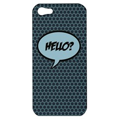 Hello Apple Iphone 5 Hardshell Case by PaolAllen2