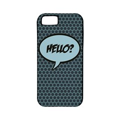 Hello Apple Iphone 5 Classic Hardshell Case (pc+silicone) by PaolAllen2