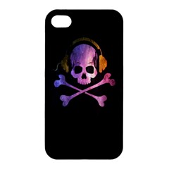 Rock out with your Skull out... Apple iPhone 4/4S Hardshell Case by TheTalkingDead