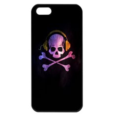Rock out with your Skull out... Apple iPhone 5 Seamless Case (Black) by TheTalkingDead
