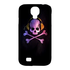 Rock Out With Your Skull Out    Samsung Galaxy S4 Classic Hardshell Case (pc+silicone) by TheTalkingDead