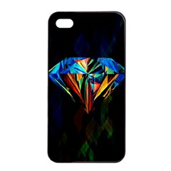 Diamonds Are Forever  Apple Iphone 4/4s Seamless Case (black) by TheTalkingDead