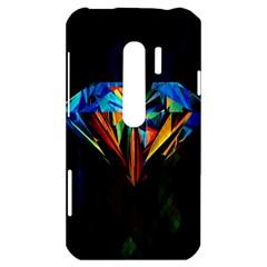 Diamonds are forever. HTC Evo 3D Hardshell Case  by TheTalkingDead