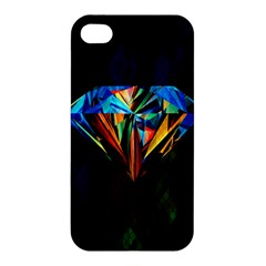 Diamonds are forever. Apple iPhone 4/4S Premium Hardshell Case by TheTalkingDead