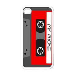 Cassette Phone Apple Iphone 4 Case (white) by TheTalkingDead