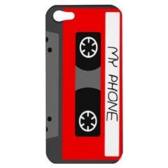 Cassette Phone Apple Iphone 5 Hardshell Case by TheTalkingDead