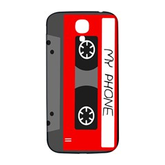 Cassette Phone Samsung Galaxy S4 I9500/i9505  Hardshell Back Case by TheTalkingDead