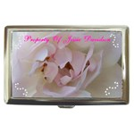 Pink Rose Cigarette Money Case