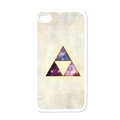 Cosmic Triangles Apple Iphone 4 Case (white) by Contest1775858