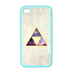Cosmic Triangles Apple Iphone 4 Case (color) by Contest1775858