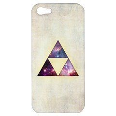 Cosmic Triangles Apple Iphone 5 Hardshell Case by Contest1775858