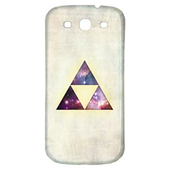 Cosmic Triangles Samsung Galaxy S3 S Iii Classic Hardshell Back Case by Contest1775858