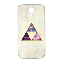 Cosmic Triangles Samsung Galaxy S4 I9500/i9505  Hardshell Back Case by Contest1775858