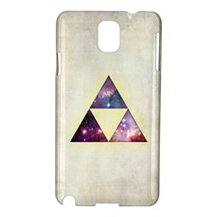 Cosmic Triangles Samsung Galaxy Note 3 N9005 Hardshell Case by Contest1775858