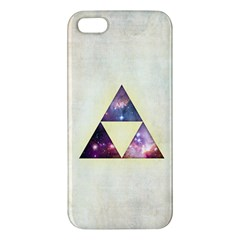 Cosmic Triangles Iphone 5s Premium Hardshell Case by Contest1775858