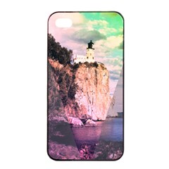 Lighthouse Apple Iphone 4/4s Seamless Case (black) by Contest1775858