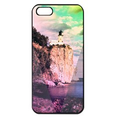 Lighthouse Apple Iphone 5 Seamless Case (black) by Contest1775858