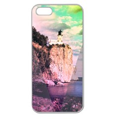 Lighthouse Apple Seamless Iphone 5 Case (clear) by Contest1775858