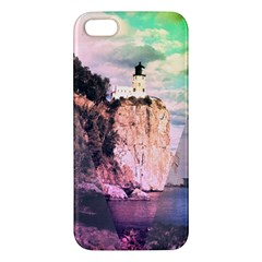 Lighthouse Iphone 5 Premium Hardshell Case by Contest1775858