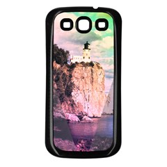 Lighthouse Samsung Galaxy S3 Back Case (black) by Contest1775858