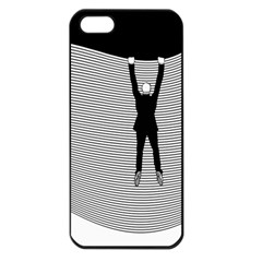 hang On The Phone!  Apple Iphone 5 Seamless Case (black) by doodlelabel