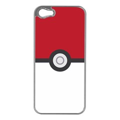 Let s Catch  em All! Apple Iphone 5 Case (silver) by ContestDesigns
